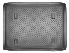 Коврик в багажник для Renault Kangoo '97-09, полиуретановый (NorPlast) черный