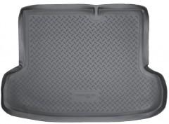 Коврик в багажник для Hyundai Accent '06-10 седан, полиуретановый (NorPlast) черный