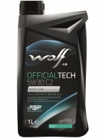 Моторное масло Wolf Officialtech 5W-30 C2 (1л)