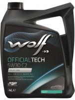 Моторное масло Wolf Officialtech 5W-30 C2 (4л)