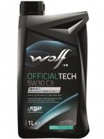 Моторное масло Wolf Officialtech 5W-30 C3 (1л)