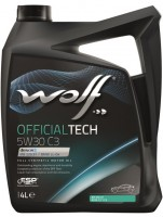Моторное масло Wolf Officialtech 5W-30 C3 (4л)