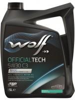 Моторное масло Wolf Officialtech 5W-30 C3 (5л)