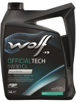 Моторное масло Wolf Officialtech 5W-30 C4 (4л)