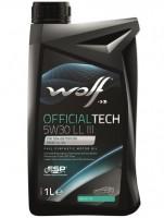 Моторное масло Wolf Officialtech 5W-30 LL III (1л)
