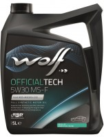 Моторное масло Wolf Officialtech 5W-30 MS-F (5л)