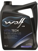 Моторное масло Wolf Vitaltech 5W-30 ASIA/US (5л)