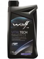 Моторное масло Wolf Vitaltech 5W-40 PI C3 (1л)