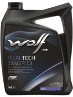 Моторное масло Wolf Vitaltech 5W-40 PI C3 (4л)