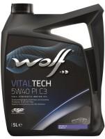Моторное масло Wolf Vitaltech 5W-40 PI C3 (5л)