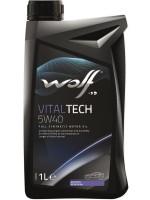 Моторное масло Wolf Vitaltech 5W-40 (1л)
