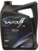 Моторное масло Wolf Vitaltech 5W-40 (4л)