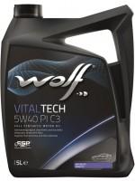 Моторное масло Wolf Vitaltech 5W-40 (5л)