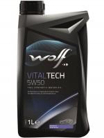 Моторное масло Wolf Vitaltech 5W-50 (1л)