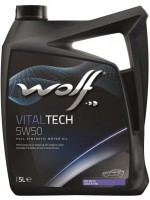 Моторное масло Wolf Vitaltech 5W-50 (5л)