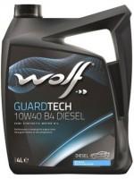 Моторное масло Wolf Guardtech 10W-40 B4 Diesel (4л)