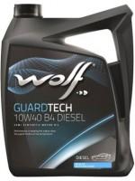 Моторное масло Wolf Guardtech 10W-40 B4 Diesel (5л)