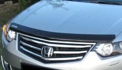 Дефлектор капота для Honda Accord 8 '08-13 EUR, c логотипом (EGR)