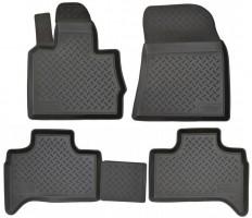 Коврики в салон для BMW X5 E53 '00-07 полиуретановые, черные (Nor-Plast)