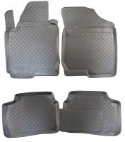 Коврики в салон для Kia Ceed '10-12 полиуретановые (Nor-Plast)