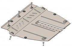 Защита двигателя и КПП для Ravon R2 '15-, V-1,2і, АКПП (Кольчуга) Zipoflex