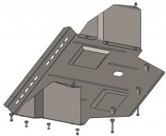 Кольчуга Защита двигателя Citroen Jumper 1994 - 2006, 2.0і; АКПП, МКПП; с кондиционером (Кольчуга)