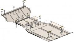 Кольчуга Защита двигателя Ford F-150 2009 - 2014, 5.4i; АКПП (Кольчуга)