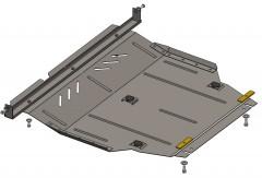 Кольчуга Защита двигателя Geely GC7 c 2015, 1.5i; МКПП (Кольчуга)