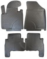Коврики в салон для Kia Sorento '10-13 XM полиуретановые (Nor-Plast)