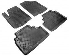 Коврики в салон для Kia Venga '10- полиуретановые (Nor-Plast)