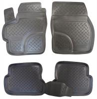 Коврики в салон для Mazda 3 '04-09 полиуретановые (Nor-Plast)