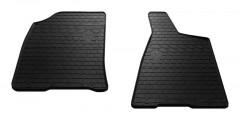 Коврики в салон передние для Audi 80 B3 '86-91 резиновые, черные (Stingray)