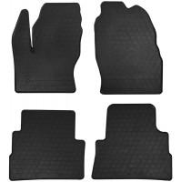 Коврики в салон для Ford Kuga '13- резиновые, черные (Stingray)