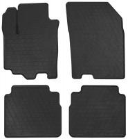 Коврики в салон для Suzuki SX4 '16- резиновые, черные (Stingray)