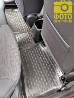 Фото 4 - Коврики в салон 3D для Hyundai Accent (Solaris) '11-17 полиуретановые (Novline)