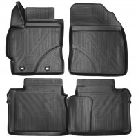 Коврики в салон 3D для Toyota Corolla '13- полиуретановые (Novline / Element)
