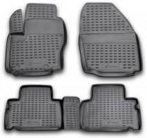 Коврики в салон для Ford S-Max '06-15 полиуретановые (Novline / Element)