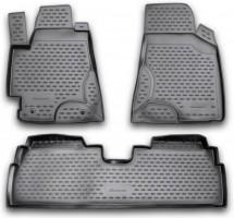 Коврики в салон для Toyota Highlander '01-07 полиуретановые (Novline / Element)