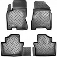 Коврики в салон для Renault Koleos '06-16 полиуретановые, черные (Nor-Plast)