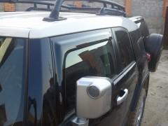 Дефлекторы окон для Toyota FJ Cruiser '06-, передние (HIC)