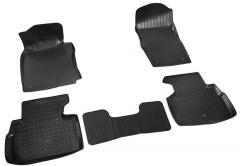 Коврик в салон  для Infiniti Q50 '14-, полиуретановые , черные (Nor-Plast)