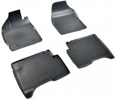 Коврик в салон для Lifan X50 '15-, полиуретановые, черные (Nor-Plast)