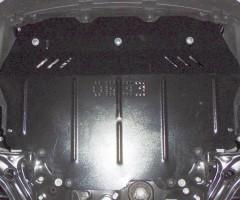Фото 2 - Защита двигателя и КПП, радиатора для Volkswagen Jetta VI '10-, V-все, АКПП, МКПП (Кольчуга) Zipoflex