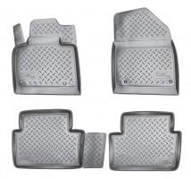 Коврики в салон для Citroen C5 / DS5 '08- полиуретановые, черные (Nor-Plast)