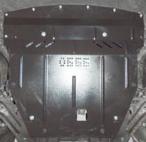 Фото 2 - Защита двигателя и КПП, радиатора для Nissan Qashqai '16-, V-1,2і, АКПП; Рос. сборка (Кольчуга) Zipoflex