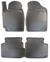 Коврики в салон для Toyota Camry V30 '02-06 полиуретановые (Nor-Plast)