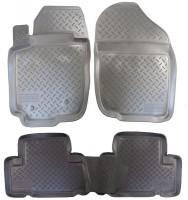 Коврики в салон для Toyota RAV4 '06-09 полиуретановые (Nor-Plast)