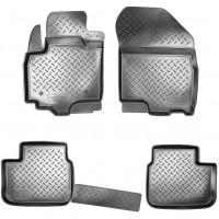 Коврики в салон для Fiat Sedici '06- полиуретановые, черные (Nor-Plast)