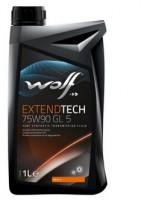 Масло трансмиссионное Wolf Extendtech 75W-90 GL-5 1 л.