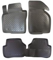 Коврики в салон для Volkswagen Passat B6 '05-10 полиуретановые (Nor-Plast)